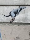 Banksy  Montmartre Rat v1 in Paris
