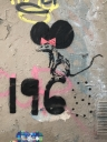 Banksy 1968 Rat in Paris