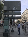 Banksy Vandal Rat v2 in Paris