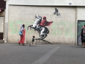 Banksy Napoleon in Paris